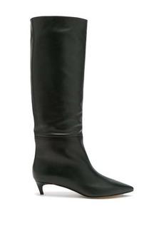 Jimmy Choo Maxima 35 leather knee-high boots