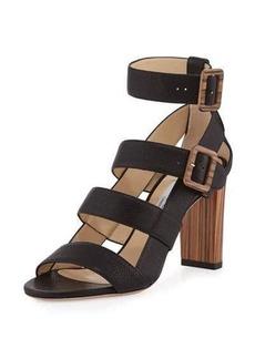 Jimmy Choo Maya Leather 85mm Sandal