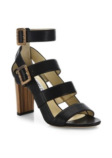 Jimmy Choo Maya Strappy Leather Sandals