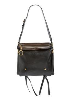 Jimmy Choo 'Medium Mardy' Leather Shoulder Bag