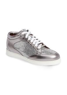 Jimmy Choo Miami Glitter Sneaker (Women)