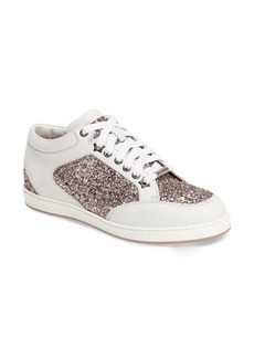 Jimmy Choo Miami Glitter Sneaker (Women)