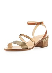 Jimmy Choo Miko Strappy Leather City Sandal