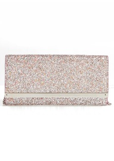Jimmy Choo Milla Speckled Glitter Wallet on a Chain