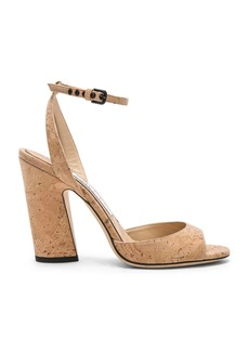 Jimmy Choo Miranda 100mm Cork Sandal