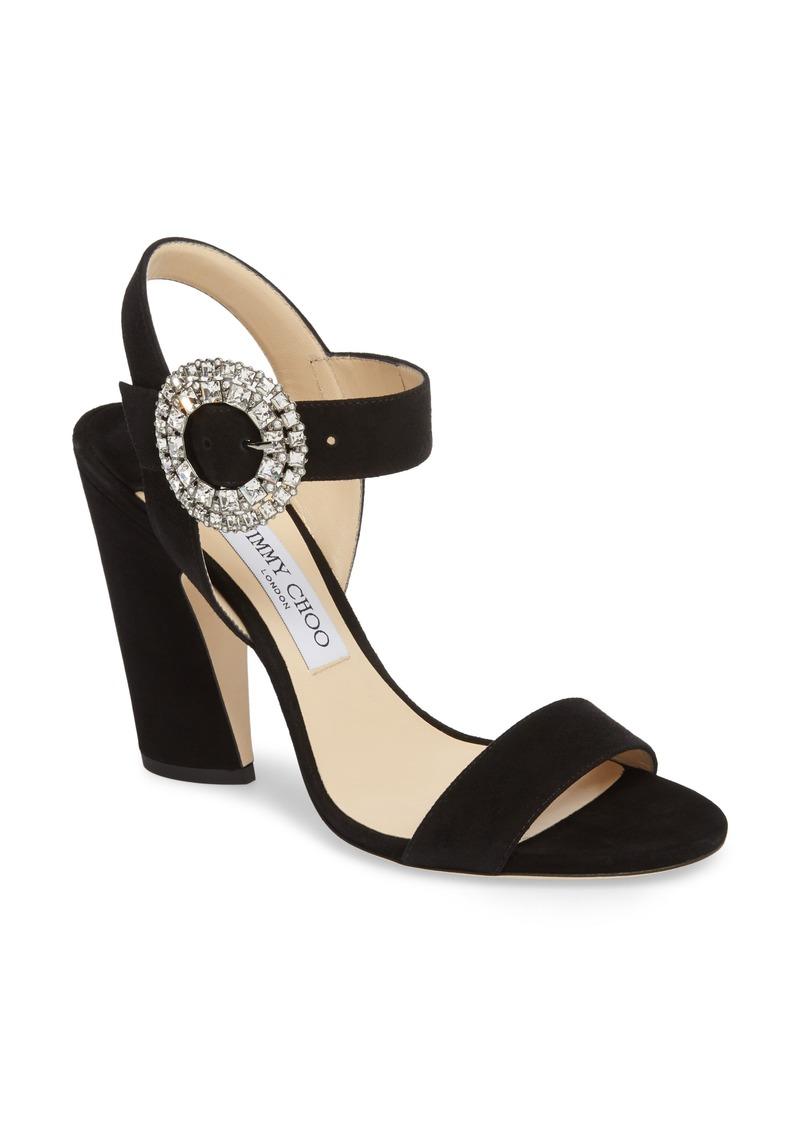 bb71dd1208 Jimmy Choo Jimmy Choo Mischa Crystal Buckle Sandal (Women) | Shoes