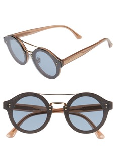 Jimmy Choo Monties 64mm Round Sunglasses