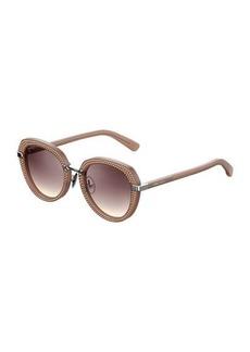 Mori Round Studded Sunglasses