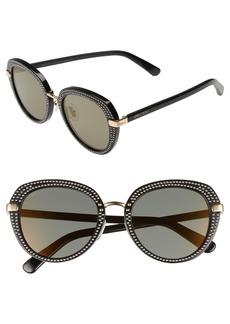 Jimmy Choo Moris 52mm Oversize Sunglasses