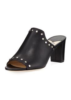 Jimmy Choo Myla Studded Leather Slide Sandal