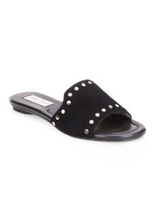 Nanda NWU Studded Suede Slides