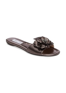 Jimmy Choo Neave Embellished Slide Sandal (Women)