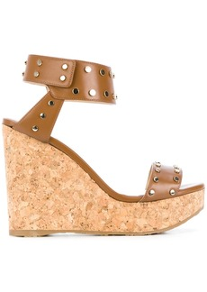 Jimmy Choo Nelly wedges - Nude & Neutrals