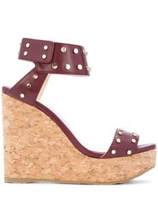 Jimmy Choo Nelly wedges - Red