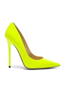 Jimmy Choo Neon Patent Leather Anouk Heels