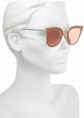 ba09df65d44 Jimmy Choo Jimmy Choo Niles 63mm Oversize Cat Eye Sunglasses ...