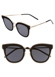 Jimmy Choo Niles 63mm Oversize Cat Eye Sunglasses