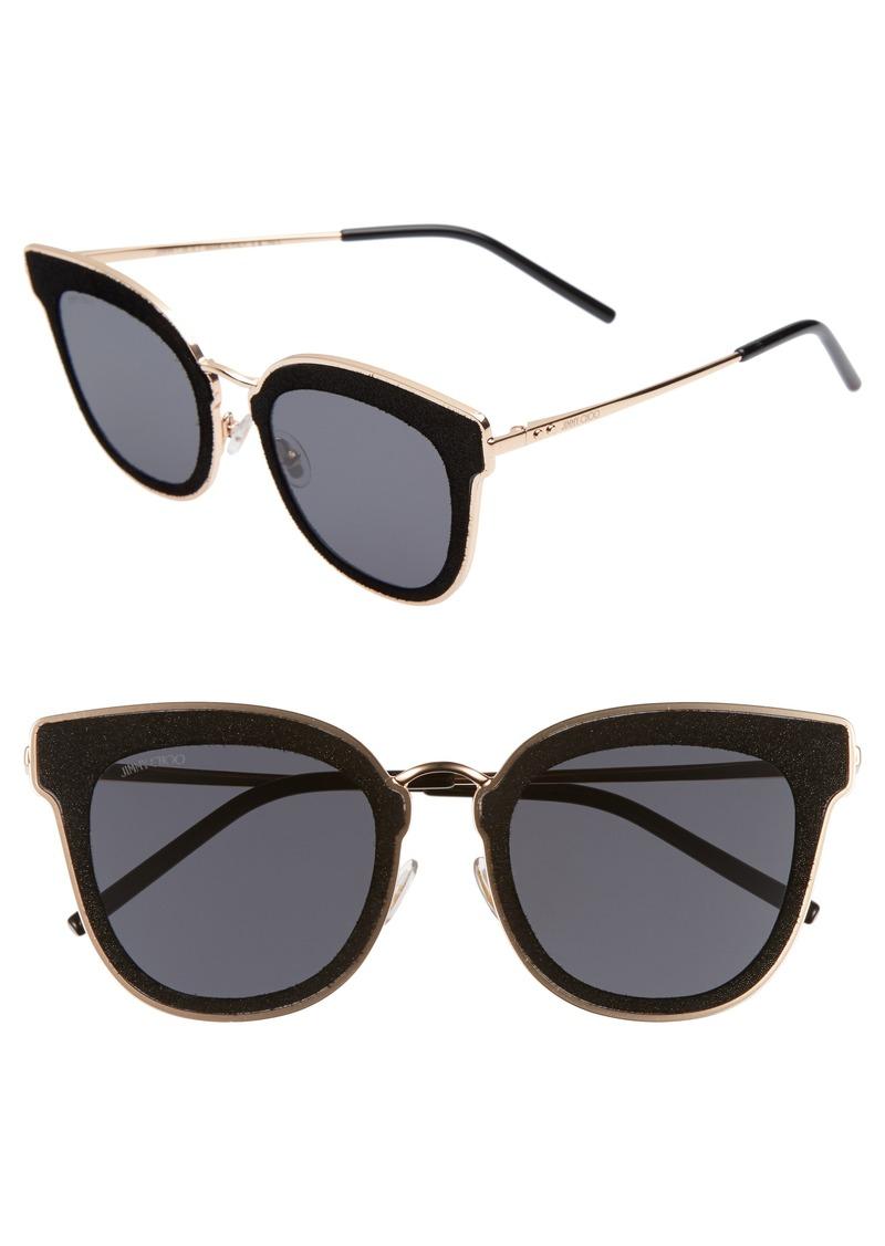 a2410991390 Jimmy Choo Jimmy Choo Niles 63mm Oversize Cat Eye Sunglasses ...