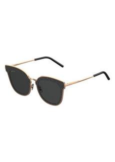 Niles Glittered Cat-Eye Sunglasses