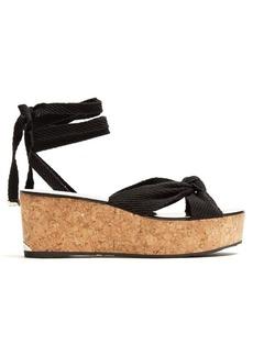 Jimmy Choo Norah rope flatform sandals
