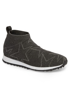 Jimmy Choo Norway Mid Knit Sock Sneaker (Men)