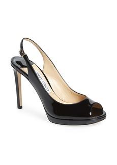 Jimmy Choo Nova Patent Slingback Sandal (Women)