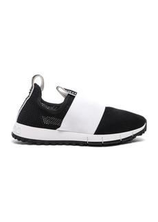Jimmy Choo Oakland Suede Mesh Sneaker