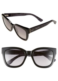 Jimmy Choo 'Ottis' 53mm Sunglasses