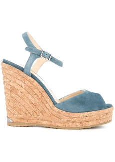 Jimmy Choo Perla wedges - Blue