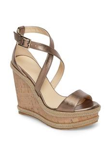 Jimmy Choo Portia Wedge Platform Sandal (Women)