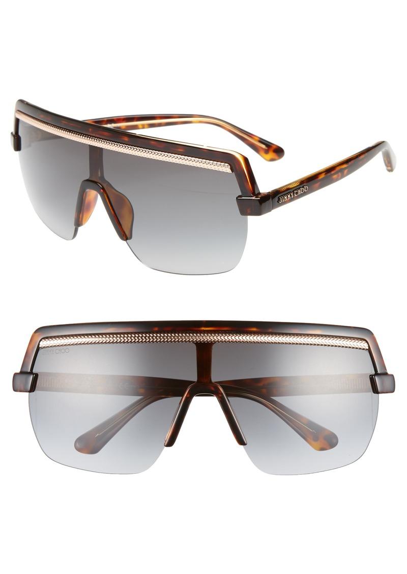 Jimmy Choo Pose 133mm Shield Sunglasses