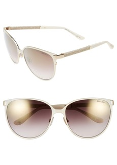 Jimmy Choo 'Posies' 60mm Cat Eye Sunglasses