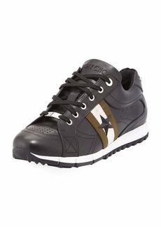 Jimmy Choo Rafi Men's Star Leather Trainer Sneaker