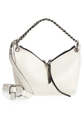 Jimmy Choo Raven Chain Lambskin Leather Shoulder Bag