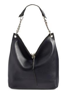 Jimmy Choo 'Raven' Leather Shoulder Bag