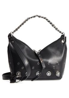 Jimmy Choo Raven Nappa Leather Shoulder Bag