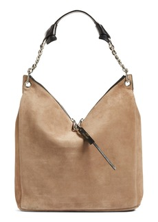 Jimmy Choo 'Raven' Suede Shoulder Bag