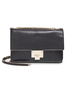 Jimmy Choo 'Rebel' Crinkled Leather Shoulder Bag