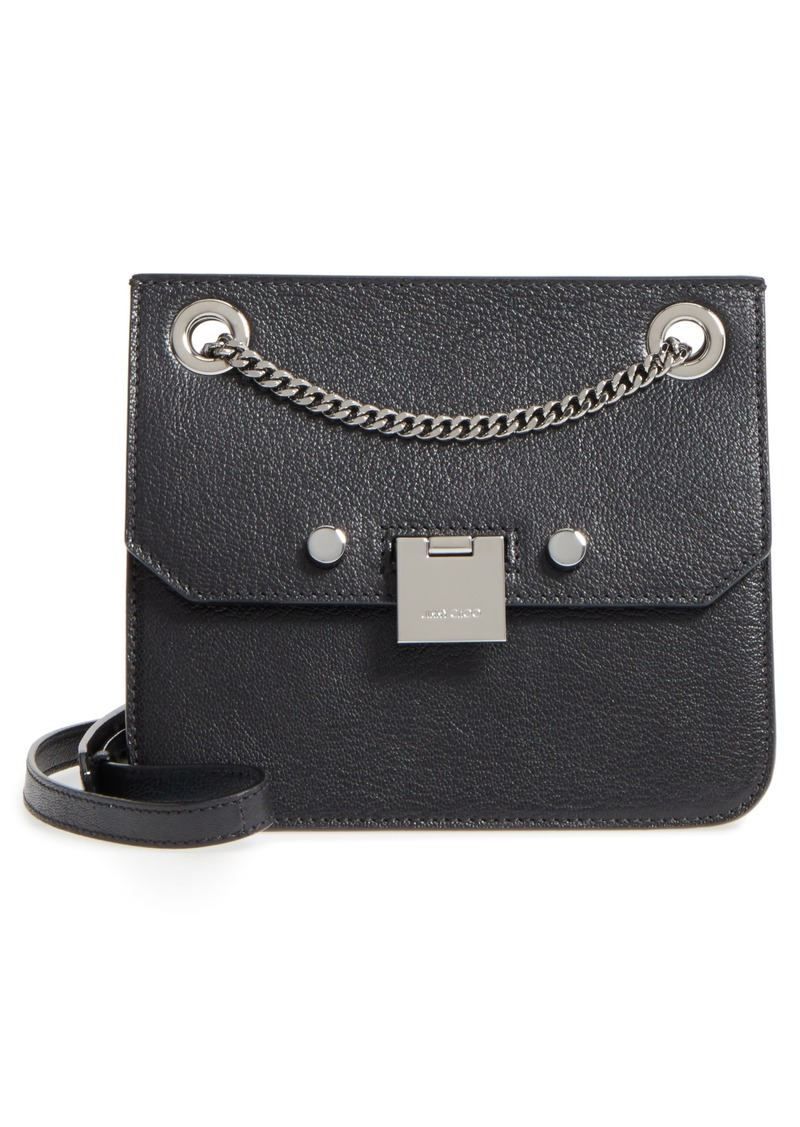8f5b228901 On Sale today! Jimmy Choo Jimmy Choo Rebel Leather Crossbody Bag