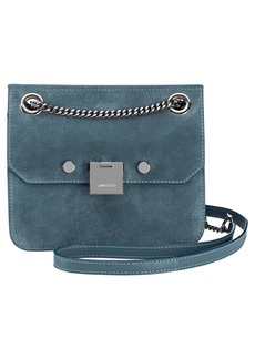 Jimmy Choo Rebel Suede Crossbody Bag