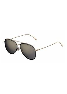 Jimmy Choo Reto Pavé Aviator Sunglasses