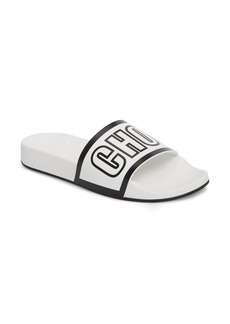 Jimmy Choo Rey Logo Slide Sandal (Women)