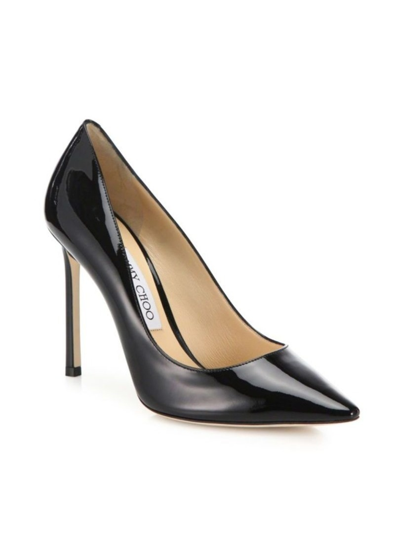 Jimmy Choo Romy Patent Leather Pumps
