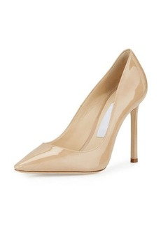 Jimmy Choo Romy 100mm Patent Leather Pump