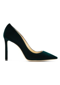 Jimmy Choo Romy 100mm velvet pumps