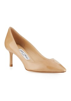 Jimmy Choo Romy 60mm Patent Pointed-Toe Pumps