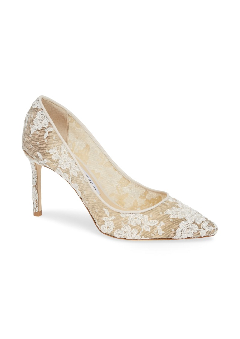 Jimmy Choo Romy Lace Pump (Women)