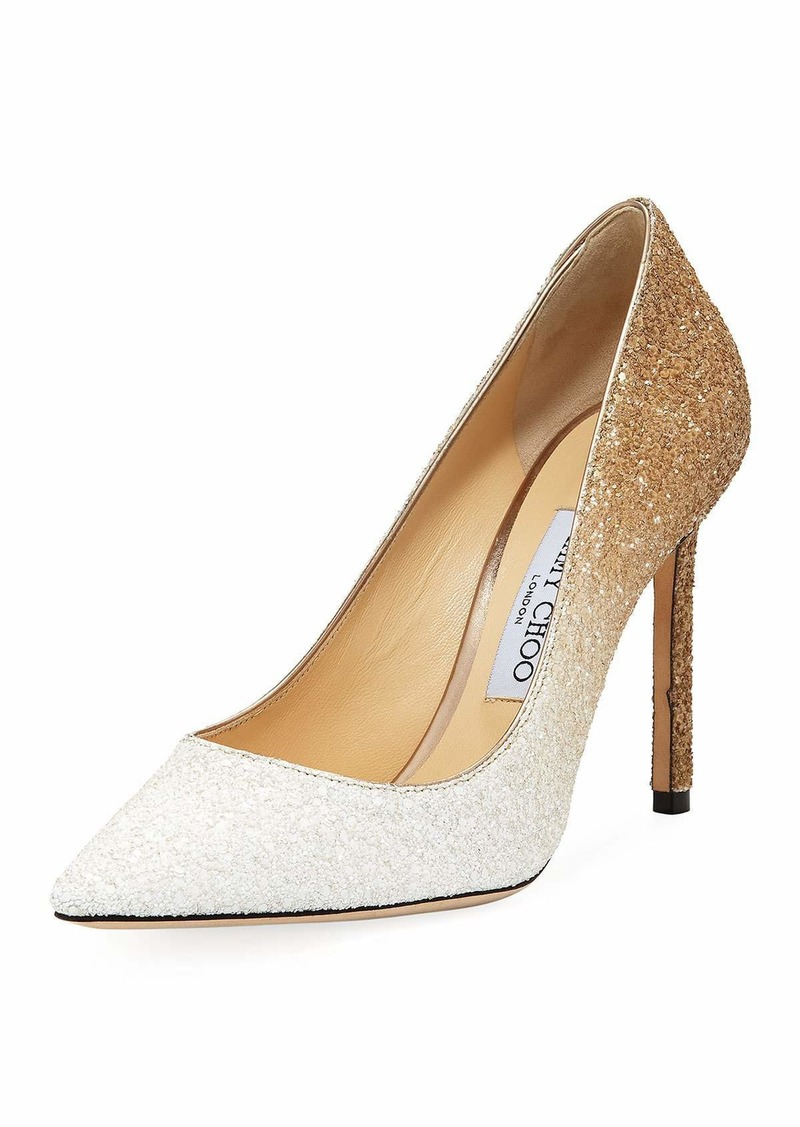 044a30c5d135 Jimmy Choo Romy 100mm Ombre Glitter Pumps | Shoes