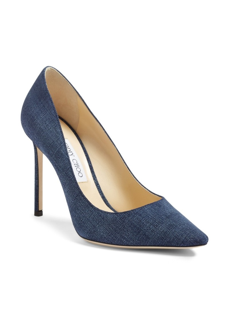 Jimmy Choo 'Romy' Pointy Toe Pump (Women)