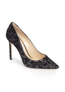 Jimmy Choo Romy Textured Glitter Pump (Women)